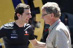 Pedro de la Rosa, test driver, McLaren Mercedes en Herman Tilke