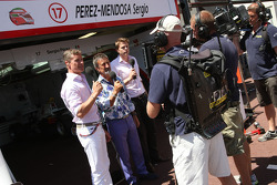 David Coulthard ve Eddie Jordan, BBC TV