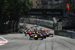 Arrancada Sebastian Vettel, Red Bull Racing