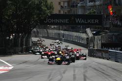 Start, race, Sebastian Vettel, Red Bull Racing