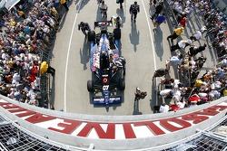 Coche de Tomas Scheckter, KV Racing Technology - SH Racing