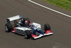 La IndyCar dos plazas conducido por Mario Andretti