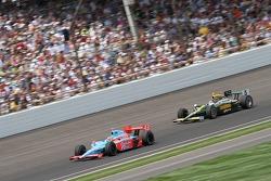 John Andretti, Richard Petty/Andretti Autosport y Takuma Sato, KV Racing Technology-Lotus