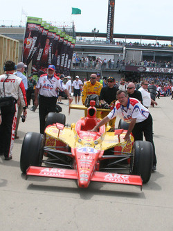 Coche de Ryan Hunter-Reay, A.J. Foyt Enterprises