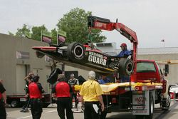 Coche averiado de J.R. Hildebrand, Panther Racing