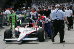 Coche de Alex Lloyd, Dale Coyne Racing