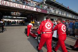 Coche de Scott Dixon, Target Chip Ganassi Racing al pitlane