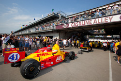Coche de Ryan Hunter-Reay, A.J. Foyt Enterprises al pitlane