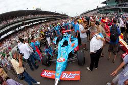 Coche de John Andretti, Richard Petty / Andretti Autosport
