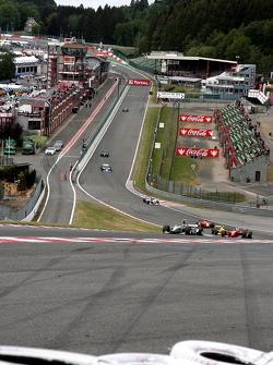 1ste ronde: #22 Jens Renstrup, Dallara GP2 2005