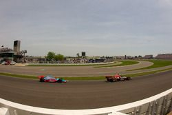Justin Wilson, Dreyer & Reinbold Racing y John Andretti, Richard Petty / Andretti Autosport