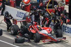Pit stop de Justin Wilson, Dreyer & Reinbold Racing