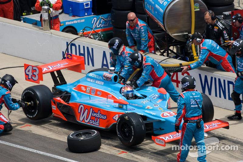 Pit stop de John Andretti, Richard Petty / Andretti Autosport