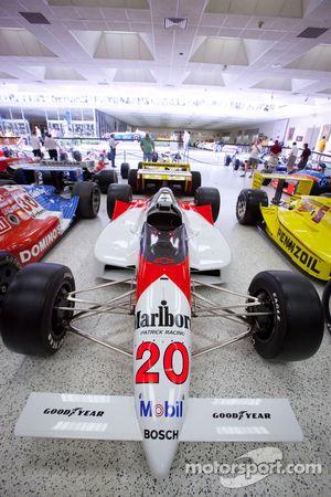 Visita al museo del salón de la fama del Indianapolis Motor Speedway