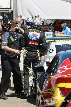 Robert Stout, #6 Mitchum Motorsports Camaro GS.R, kwalificaties