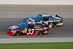 Kevin Harvick, Kevin Harvick Inc. Chevrolet and Mikey Kile, Turner Motorsports Chevrolet