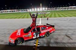 Justin Allgaier, Turner Motorsport Chevrolet celebrates