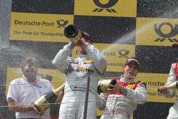 Ernst Moser, Team principal of Audi Sport Team Phoenix, Ralf Schumacher, Team HWA AMG Mercedes C-Kla