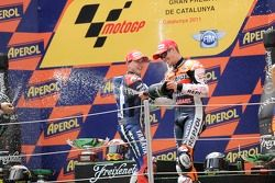 Jorge Lorenzo, Yahama Factory Racing and Casey Stoner, Repsol Honda Team