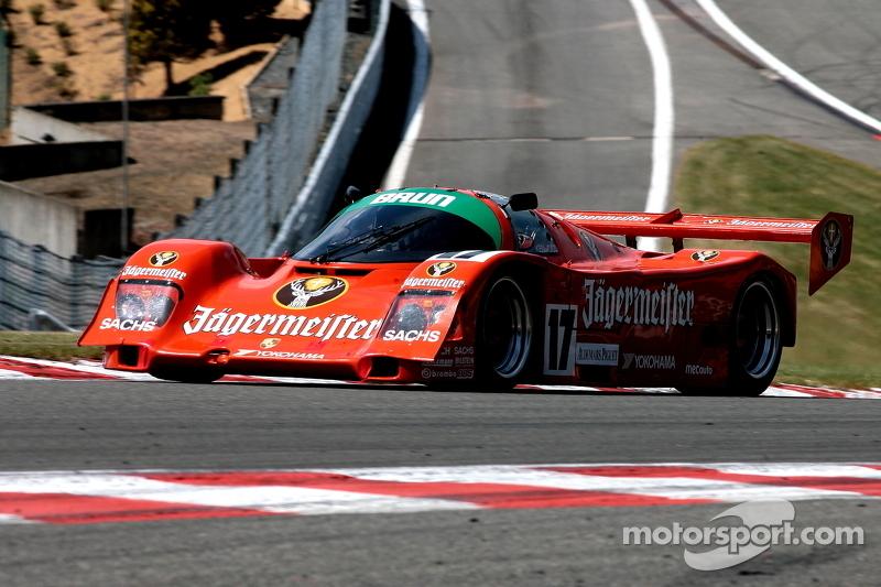 #17 Porsche 962: Christophe d'Ansembourg, Hervé Regout