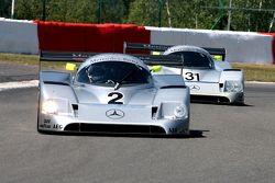 Mercedes C11 duo, #2: Christian Glaese; #31: Gareth Evans, Bob Berridge
