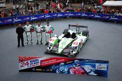 #5 Hope Racing Oreca Swiss Hy Tech-Hybrid: Стив Заккиа, Ян Ламмерс и Каспер Элгард
