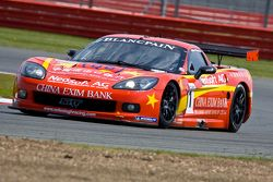 #11 Exim Bank Team China Corvette Z06 GT1: Mike Hezemans, Nick Catzburg
