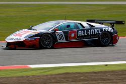 #38 All-Inkl M_ºnich Lamborgini Murcielago 670 R-SV GT1: Mark Basseng, Markus Winklehok