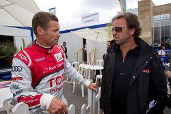Tom Kristensen en Calvin Fish