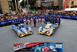 #48 Team Oreca Matmut Oreca 03-Nissan: Alexandre Prémat, David Hallyday, Dominik Kraihamer, #10 Team