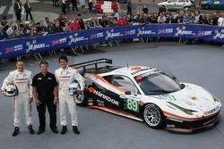 #89 Hankook - Team Farnbacher Hankook Ferrari 458 Italia: Dominik Farnbacher, Allan Simonsen, Leh Ke
