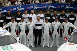 #55 BMW Motorsport BMW M3 GT: Augusto Farfus Jr., Jörg Muller, Dirk Werner, #56 BMW Motorsport BMW M