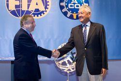 ACO persconferentie: FIA President Jean Todt en ACO President Jean-Claude Plassart