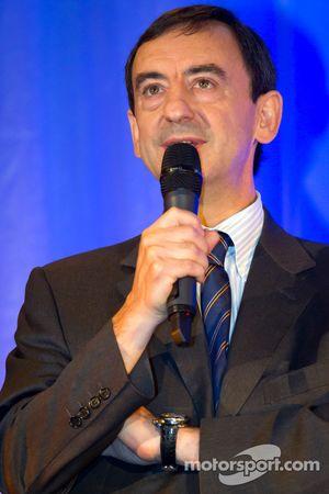 ACO persconferentie: ACO vice-president Pierre Fillion