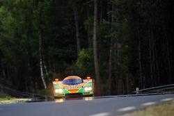 Patrick Dempsey drivers the Mazda 787B for the 20th anniversary of Mazda's win