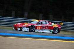#61 AF Corse Ferrari F430: Pierguiseppe Perazzini, Marco Cioci, Sean Paul Breslin