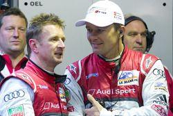Allan McNish en Marcel Fässler