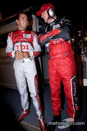 Benoit Tréluyer met Dr. Wolfgang Ullrich na pole
