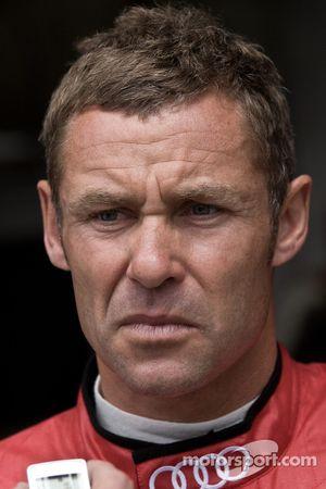 Tom Kristensen na crash Allan McNish