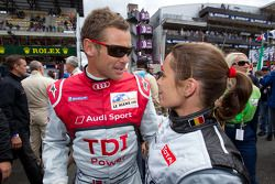 Vanina Ickx en Tom Kristensen