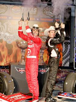 Dario Franchitti, Target Chip Ganassi Racing and Will Power, Team Penske