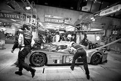 Pitstop #22 Kronos Racing Lola Aston Martin: Vanina Ickx, Maxime Martin, Bas Leinders
