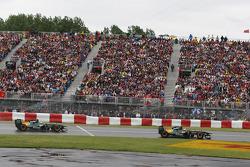 Jarno Trulli, Team Lotus y Heikki Kovalainen, Team Lotus