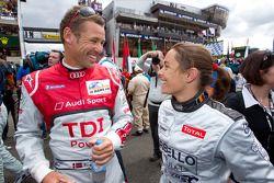 Tom Kristensen en Vanina Ickx