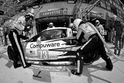 Pitstop #73 Corvette Racing Chevrolet Corvette C6 ZR1: Olivier Beretta, Tom Milner, Antonio Garcia