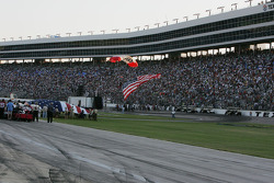 The American Flag arrives at Texas Motor Speedway