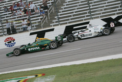 E.J. Viso, KV Racing Technology-Lotus, Paul Tracy, Dragon Racing
