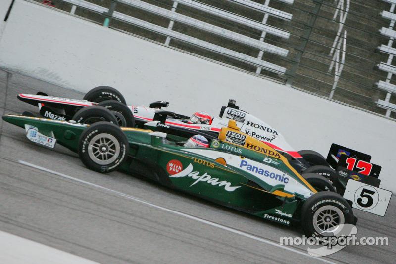 Takuma Sato, KV Racing Technology-Lotus, Will Power, Team Penske