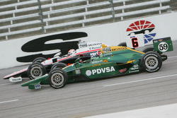 E.J. Viso, KV Racing Technology-Lotus, Ryan Briscoe, Team Penske