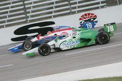 Simona De Silvestro, Nuclear Clean Air Energy HVM Racing, Alex Lloyd, Dale Coyne Racing
